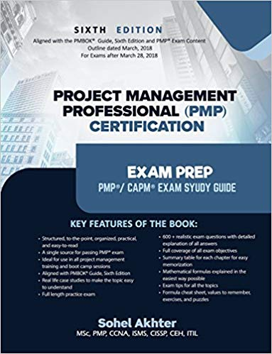 Project Management Professional (PMP) Certification Exam prep by Sohel Akhter