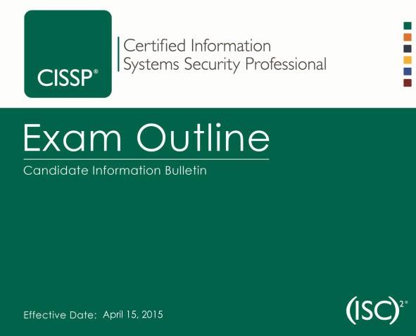 New CISSP CBK 2015 as of 15 april 2015