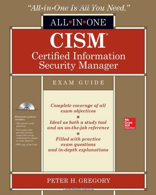McGraw-Hill and Peter H Gregory Partner to Publish CISM Study Guide