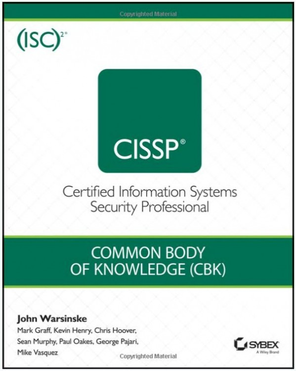CISSP ISC2 Official Study Guide 5th Edition